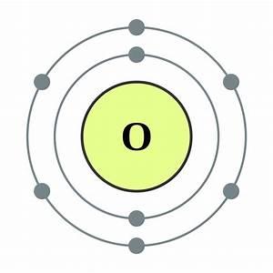 File Electron Shell 008 Oxygen  Diatomic Nonmetal  - No Label Svg