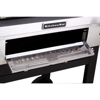 Kitchenaid Cartstyle Charcoal Grill Home Garden Dining