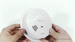 Usi Electric Smoke Detector 1208