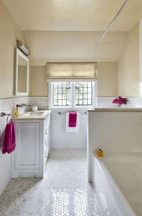 jerusalem gold limestone transitional bathroom