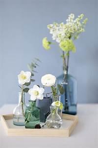 Deko Für Das Wohnzimmer : eine blaue wand f r das wohnzimmer blumen deko pinterest blaue wandfarbe wandfarbe und ~ Bigdaddyawards.com Haus und Dekorationen