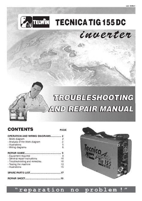 telwin 140 welding machine service manual free schematics eeprom repair info for
