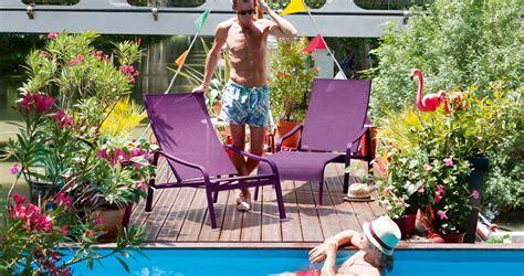 aliz 233 deck chair garden chaise longue