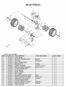 Dinli Dino Parts Manual