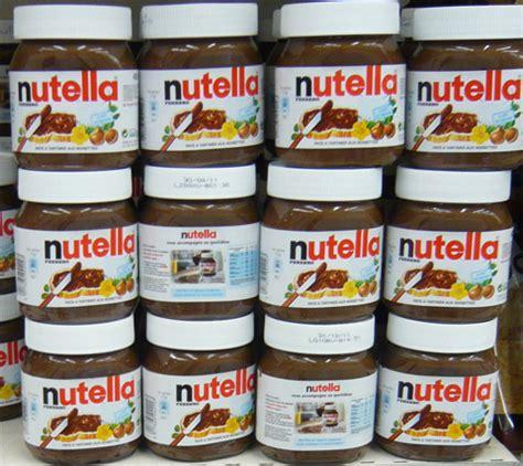 le nutella contient le phtalate le plus dangereux dehp