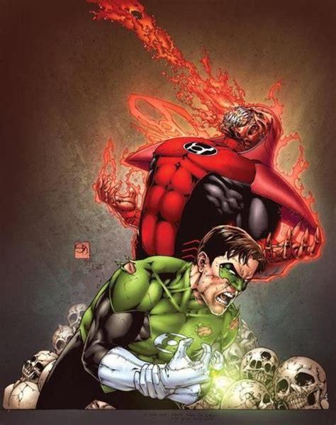 green lantern vs atrocitus comic character design
