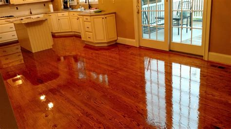 red oak stained  english chestnutgolden oak mixed