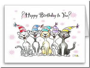 singing birthday free smile ecards greeting cards 123 cat singing happy birthday card pictures reference
