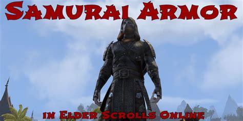 akaviri samurai armor elder scrolls  guides
