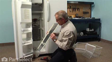 refrigerator repair replacing  defrost thermostat