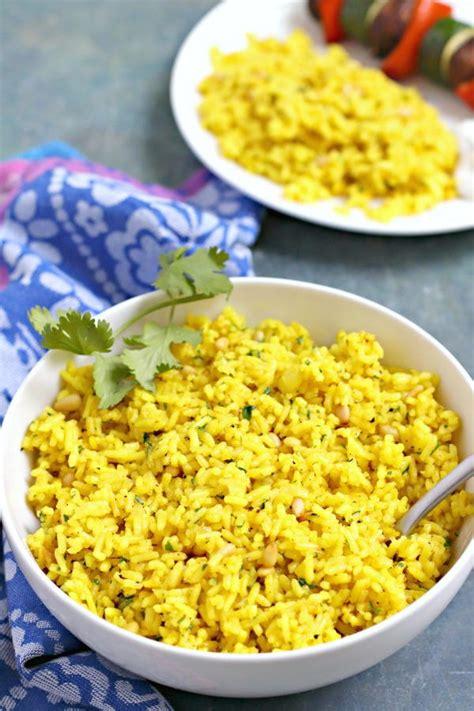 mediterranean yellow rice recipelioncom