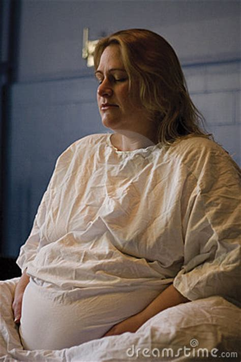 pregnant woman giving birth royalty  stock photography
