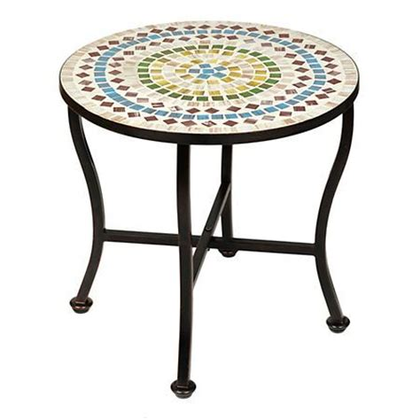 mosaic outdoor side table 34 best images about the great outdoors on pinterest