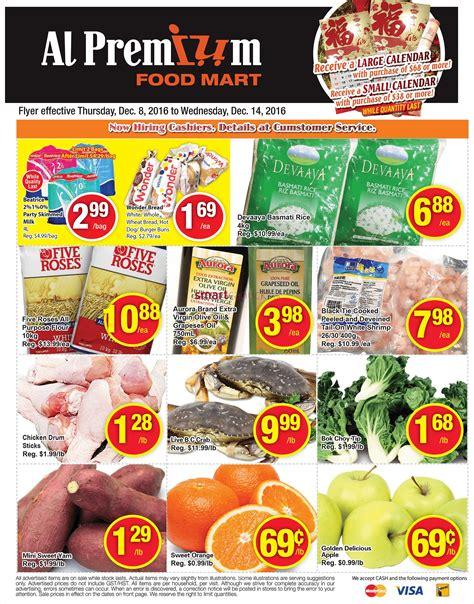premium cuisine al premium food mart flyer december 8 to 14