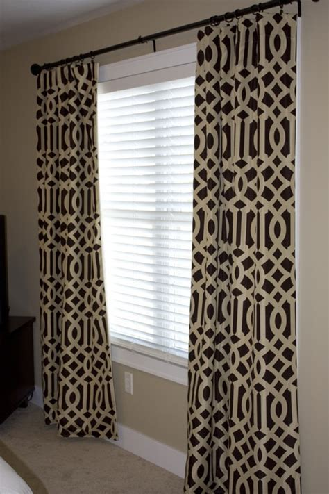 reserved for kristen imperial trellis drapery panels java