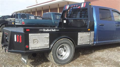 truck bed bradford built truck beds go with trailer inc