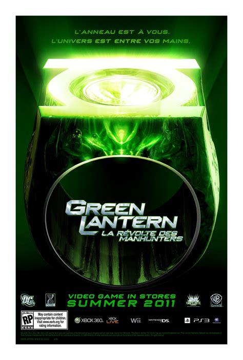 jeux de green lanterne artworks green lantern la r 233 volte des manhunters