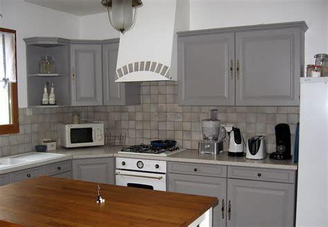 cuisine et gris decoration cuisine gris et blanc