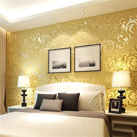 wooden headboard modern bedroom interior decorating ideas with beautiful