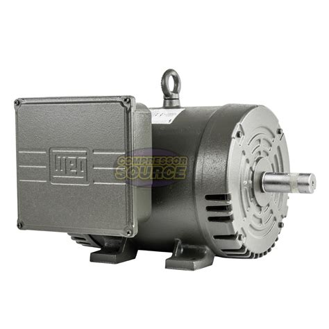 7 5 hp replacement motor 1 phase 3450 rpm 184t for ingersoll rand compressor 685650083605 ebay