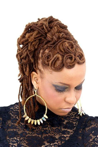 pin curls for black women   Pin Curl Updo   Black Women