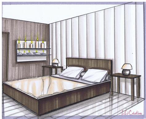 dessin d une chambre le de elise fossoux décoration architecture d