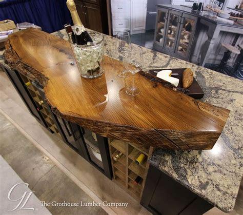 pin  grothouse   edge wood countertops wood