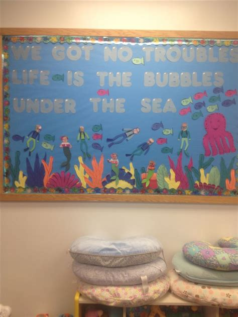 sea themed bulletin board girls  class