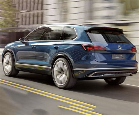 New Touareg 2018 by Future 2018 Vw Touareg Will Feature More Advanced Technologies