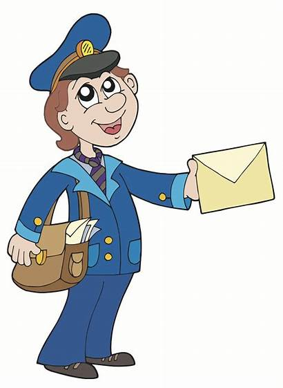 Mailman Clipart Clip Cliparts Computer