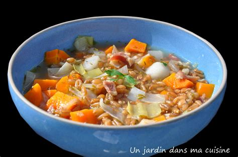 des vers dans ma cuisine soupe de grand épeautre un jardin dans ma cuisine