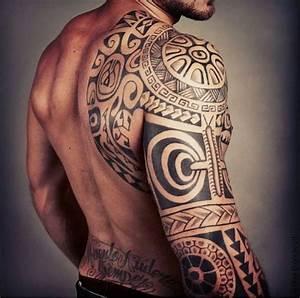 Tatouage Homme Bras Tribal : tatouage tribal bras fin id es de tatouages et piercings ~ Melissatoandfro.com Idées de Décoration