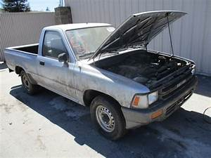 1991 Toyota Pickup Parts  1991 Toyota Pickup 4x4 22re W Plow For Parts Or Repair No Reserve