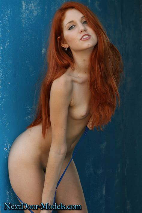 Hot Naked Redhead Women Cumception