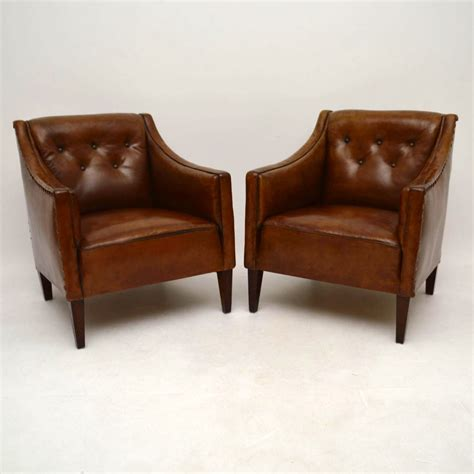 leather recliners antique pair of antique swedish leather armchairs la73716 3700