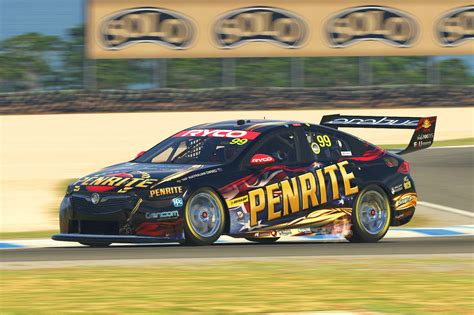 supercars offers fans  chance  beat    iracing