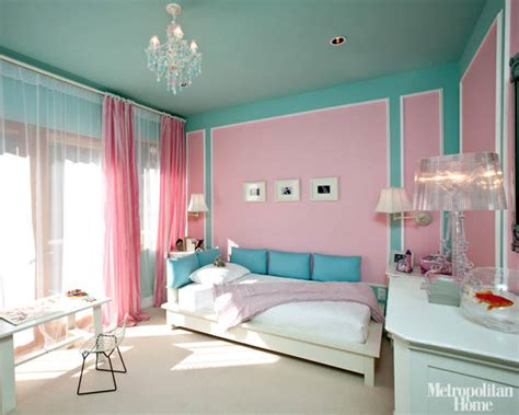 Tiffany Blue Teen Girls Bedrooms-design Dazzle