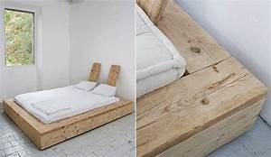 Massivholz Bett Selber Bauen Anleitung : bett selber bauen f r ein individuelles schlafzimmer ~ Watch28wear.com Haus und Dekorationen