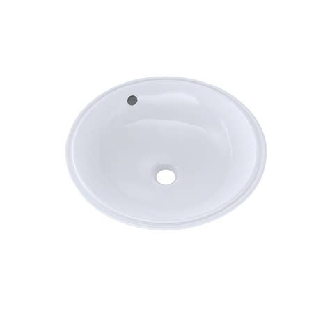 16 undermount bathroom sink toto 16 in round undermount bathroom sink with cefiontect