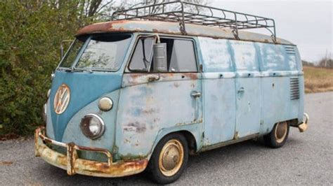 The 'american Pickers' Guy Is Selling His Groovy 1962 Vw