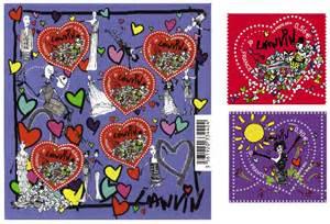 timbres mariage le nouveau timbre quot coeur quot de la poste par lanvin organiser un mariage