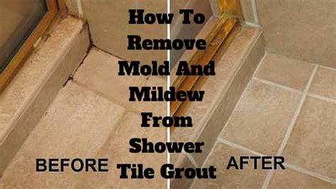 How To Remove Bathroom Tile Grout by How To Remove Mold And Mildew From Shower Tile Grout