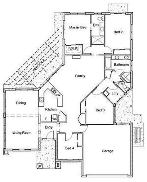4 bedroom floor plans one 100 4 bedroom one house plans home design
