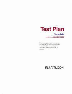 Software testing templates 50 word 27 excel for Performance testing test plan template