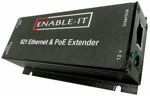 Powerful 821p Poe Extender Kit Enable