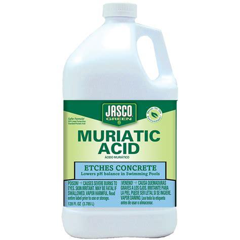muriatic acid jasco jasco 174 green muriatic acid