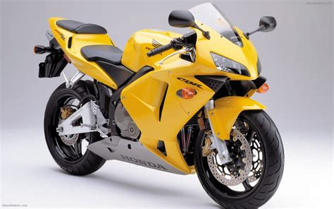 Honda Cbr 600 Rr (2003) Widescreen Exotic Bike Wallpaper #03 Of 20