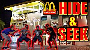 Hide And S : 24 hour overnight hide and seek nerf war in world 39 s biggest mcdonalds youtube ~ Frokenaadalensverden.com Haus und Dekorationen