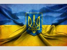 Download wallpapers Ukrainian flag, emblem of Ukraine