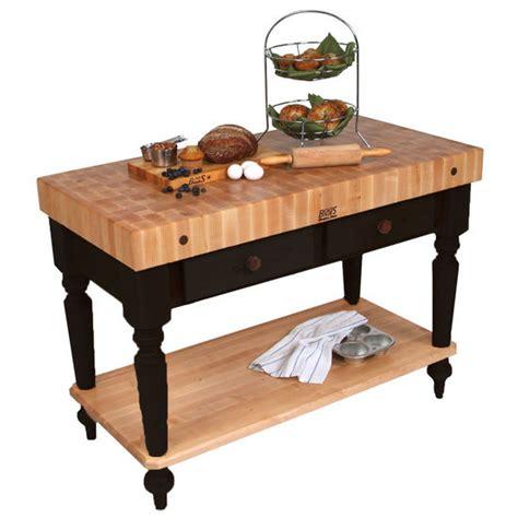 boos kitchen islands boos kitchen island work tables 48 39 39 cucina rustica